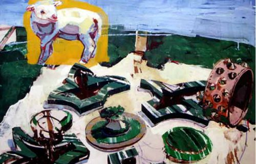 Fat of the Lamb 80x110cm 2001 Oil on Canvas
