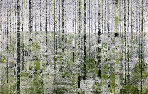 Forest 6a 130x170cm oil on canvas
