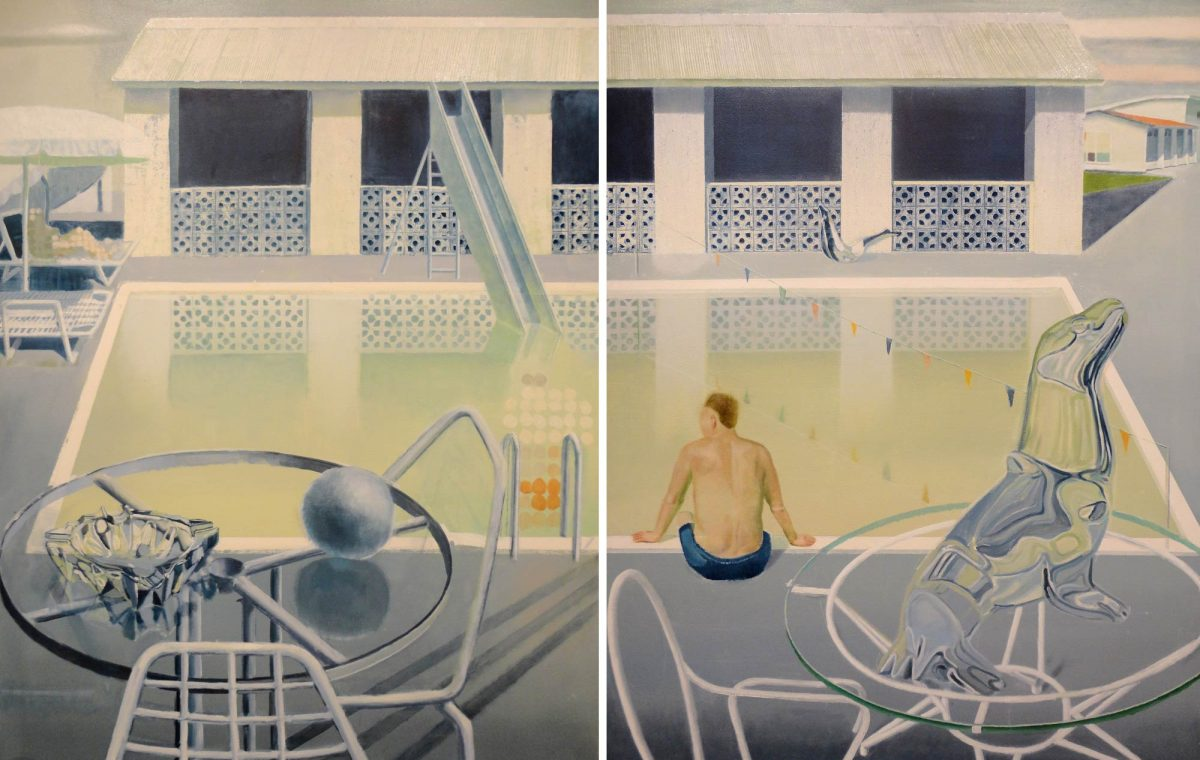 Ice seal 1 and 2. Diptich, 110x140cm (each), 2011